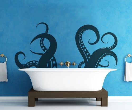 Vinyl Octopus Tentacles on Your Wall